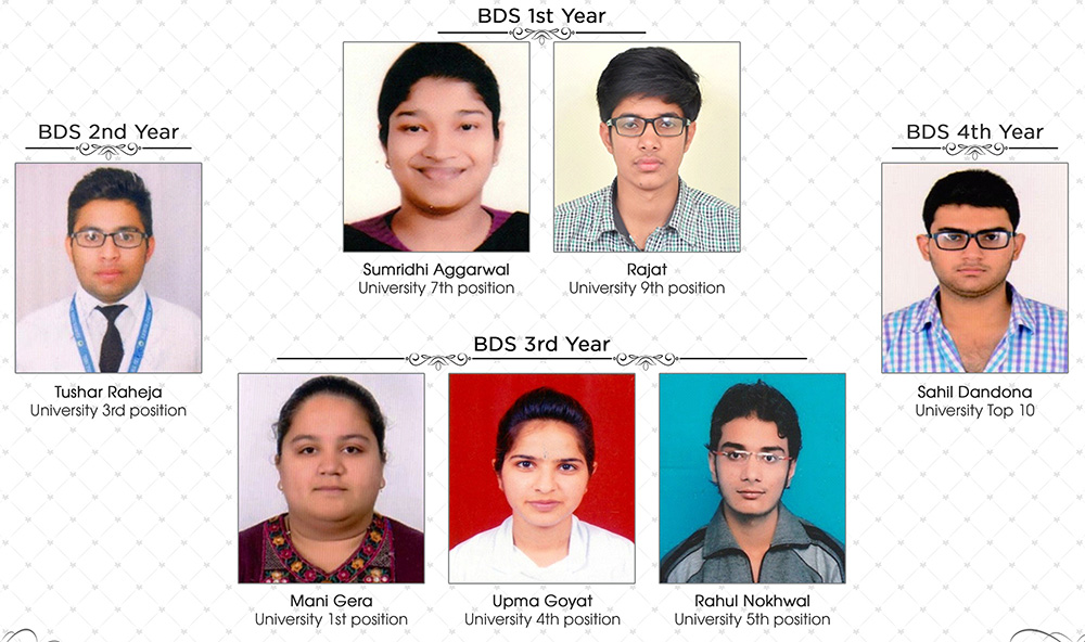bds university toppers