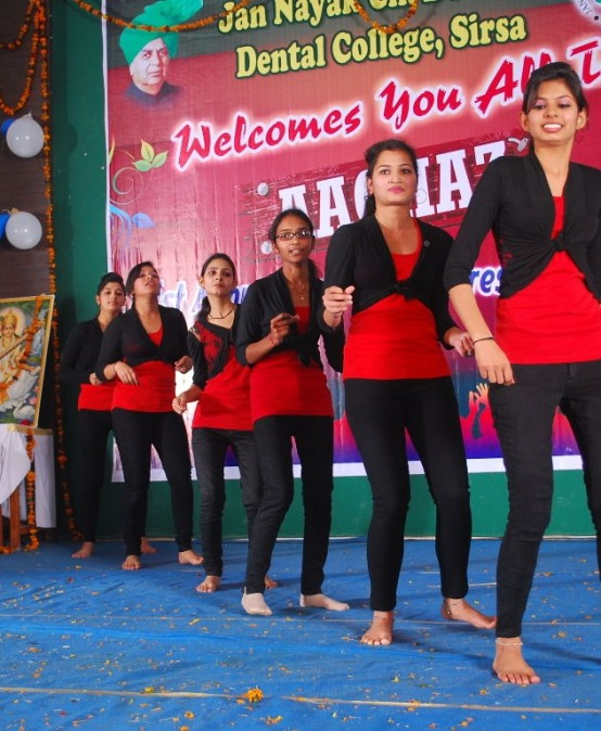 Annual Day Cum Fresher's Day celebrations