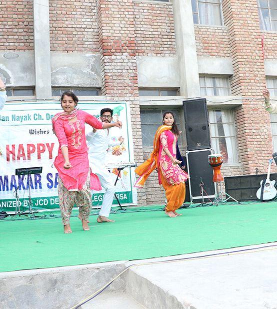 Celebration of Lohri and Makar Sankranti