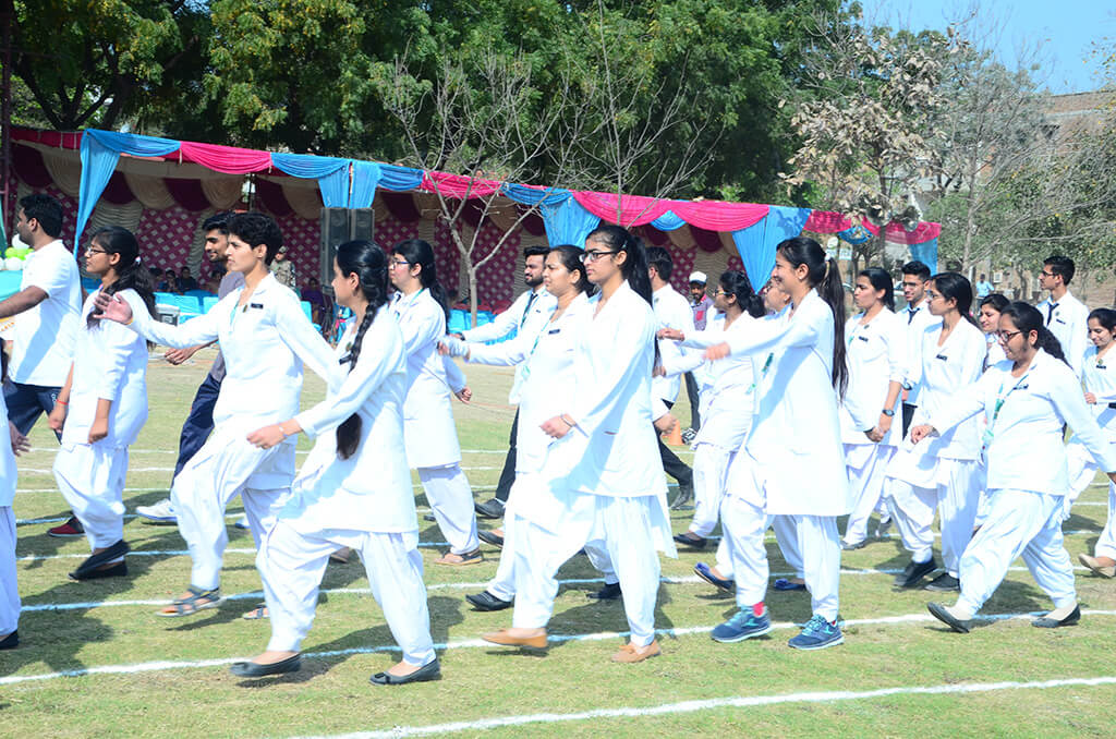 14th Annual Athletic Meet at JCD Vidyapeeth Day 1: 12/03/2018