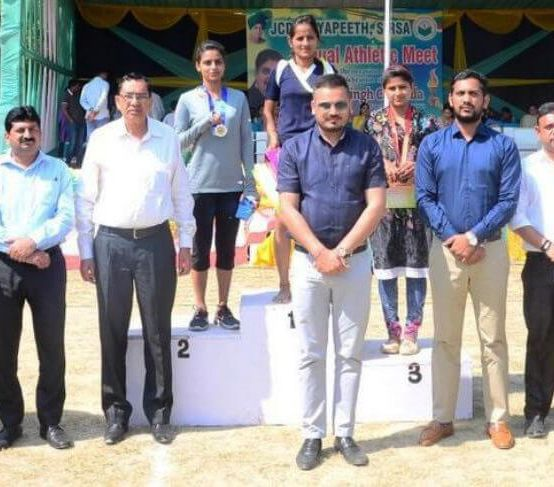 14th Annual Athletic Meet at JCD Vidyapeeth Day 2: 13/03/2018