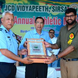 Athltecic meet 2018 at JCD