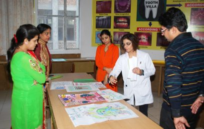 Poster Making Competition – JCD Dental College, Sirsa