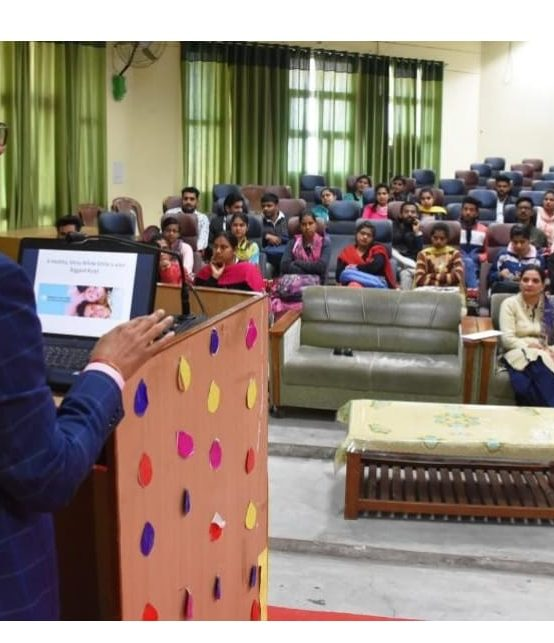 Extension lecture on the EVE of National Science day