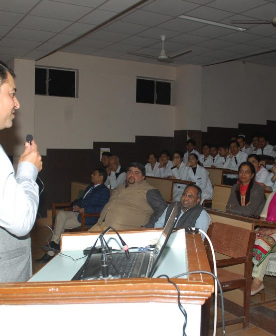 Anti-Ragging lecture was held in JCD Dental College