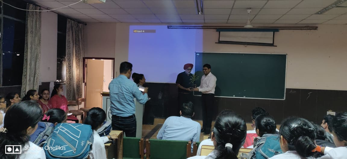 Cancer awareness lecture was conducted in JCD Dental College