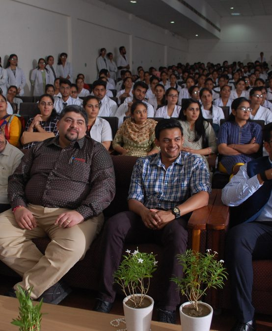Guest Lecture Was Held in JCD Dental College