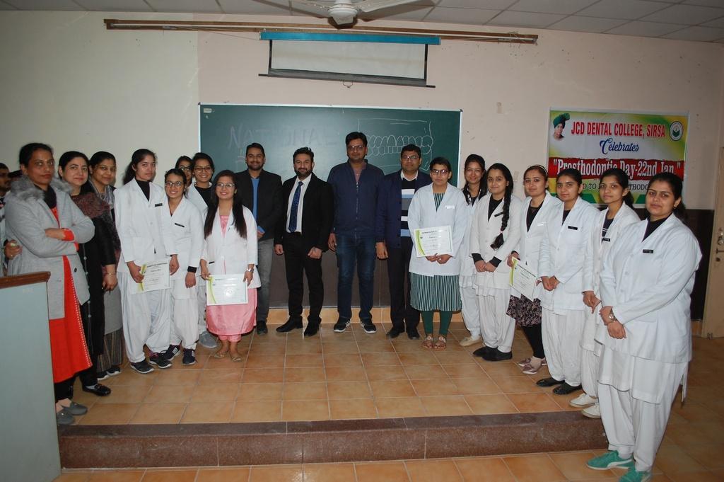 Celebration of World Prosthodontist Day
