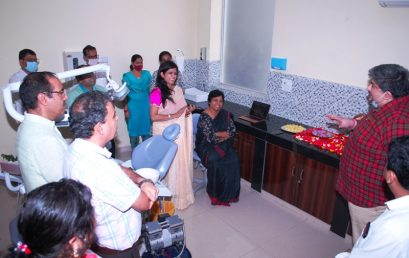 Inauguration of online appointment in JCD Dental College